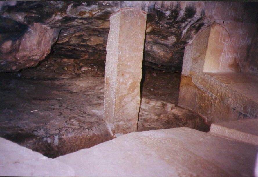 Pool like structure inside the upper storey of Ranigumpha..